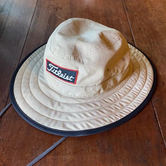 Titleist Aussie Tour Hat in Tan Size L/XL